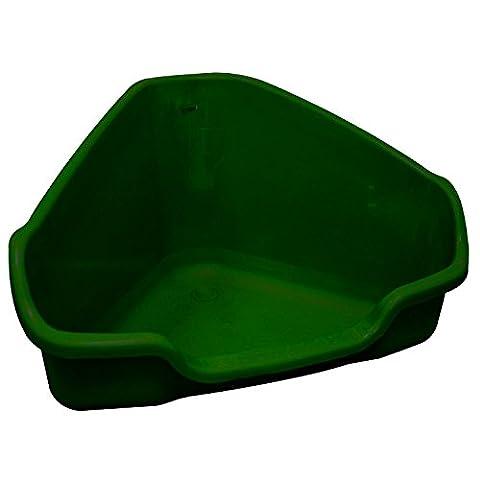 Marchioro Nora 2 Medium Corner Litter Tray Green