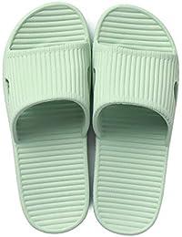 Zhiling ciabatte infradito- Pantofole da casa estiva Femminile da interno a  fondo spesso da coppia Maschile… 03708c74d24