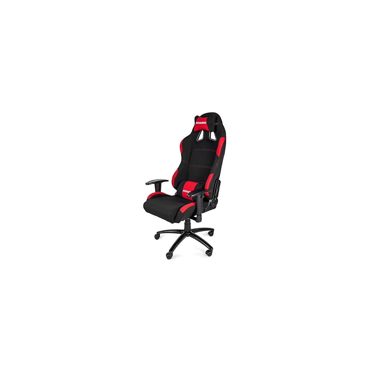 41 r5GE8xCL. SS1200  - AKRacing K7012 - AK-7012-BR - Silla Gaming, Color Negro/Rojo
