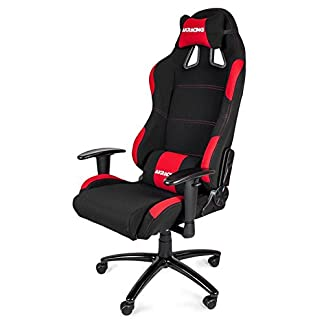 AKRacing K7012 – AK-7012-BR – Silla Gaming, Color Negro/Rojo