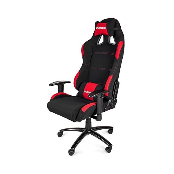 AKRacing K7012 – AK-7012-BR – Silla Gaming, Color Negro/Rojo
