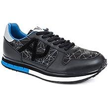 ae8aa314630 Armani Jeans - Zapatillas para Hombre Negro Negro