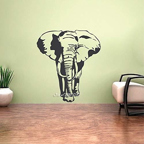 Supmsds Elefante Retro clásico Adhesivos Pared Art