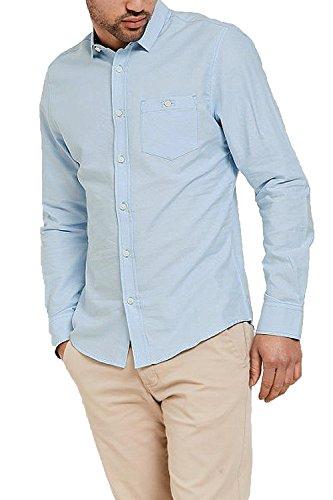 Threadbare Herren Freizeit-Hemd Hellblau