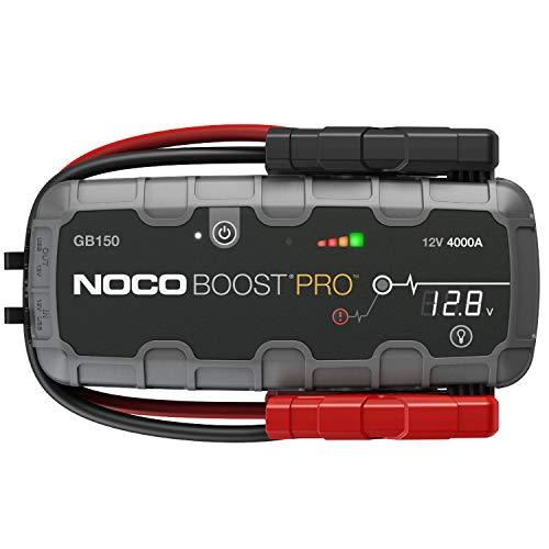 NOCO Boost HD GB150 4000 Ampere 12 Volt UltraSafe tragbares Lithium-Autobatterie-Starthilfe-Pack für bis zu 10-Liter-Benzin- und -Dieselmotoren
