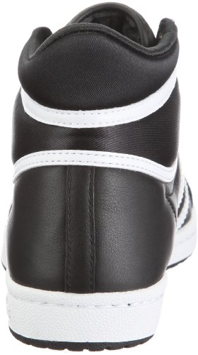 Adidas - Scarpe sportive - Basketball Top Ten Hi Sleek W, Donna Nero (Noir (Noir1/Blanc/Noir1))