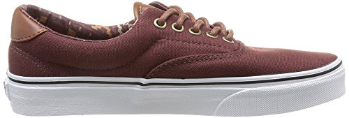 Vans U Era 59, Baskets mode mixte adulte Marron (Bitter Chocolate/Tribe Rug)