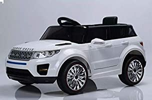 Bebouze Kids Range Rover HSE Style Ride On Car - White