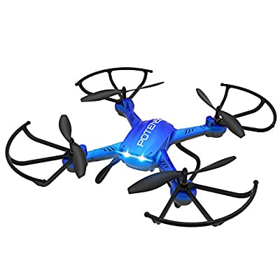 Wireless RC Quadcopter Drone with Newest Hover and 3D Flips Stepless-speed Function