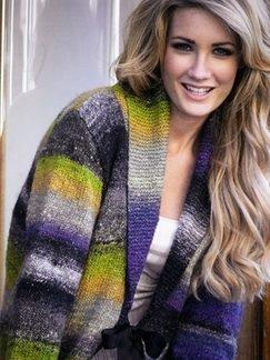 Noro Silk Garden Aran Weight Silk Kid Mohair Lambs Wool Blend Yarn: 87