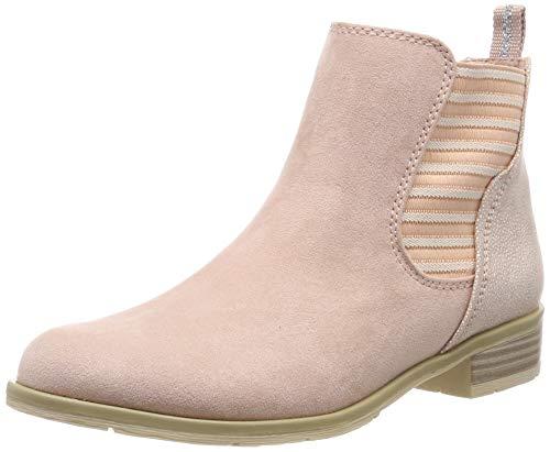 MARCO TOZZI Damen 2-2-25305-32 Chelsea Boots, Pink (Rose Comb 596), 38 EU Chelsea Rose