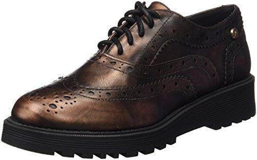 XTI Donna Zapato Sra Metalizado Bronce . Scarpe Oro Size: 37