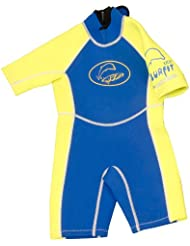 Surfit Boy's Plain - Traje para niño, tamaño 4 - 5, color azul / amarillo