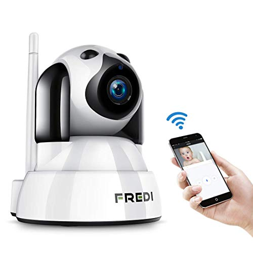 FREDI Baby Monitor IP WiFi P2P Cámara de Vigilancia/Seguridad Inalámbrica HD 720P Camara de Vigilabebes...