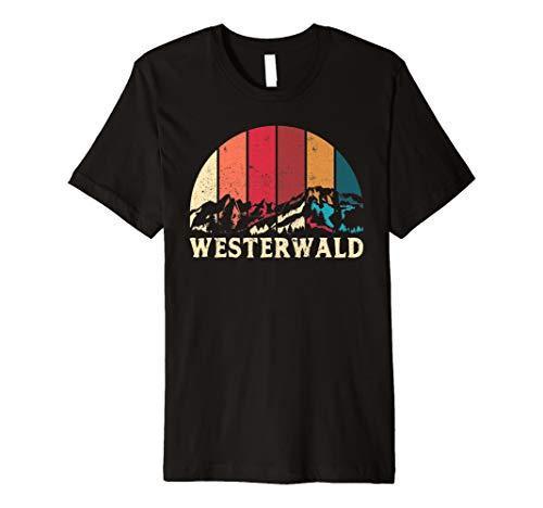 Westerwald T-Shirt Geschenk Wandern Berge