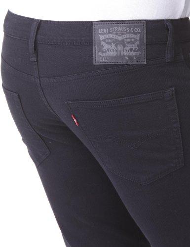 Levi's Herren 511 Slim Fit Jeans Schwarz (black 1325)