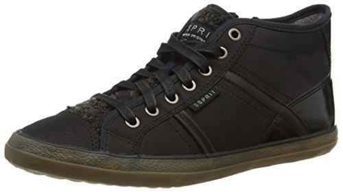ESPRITMiana Bootie - zapatillas deportivas altas Mujer, Negro - Schwarz (Schwarz (001 black)), EU 37