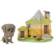 Funko 44230 POP. Town: Harry Potter-Hagrid's Hut w/Fang Collectible Figure, Multicolour