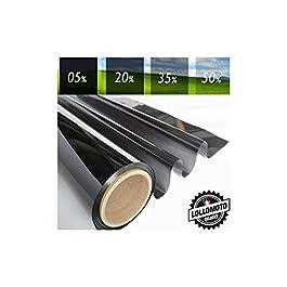 05% Pellicola Oscuramento Vetri Auto Professionale Rotolo Pellicola Vetri Tint – Altezza Rotolo 100cm