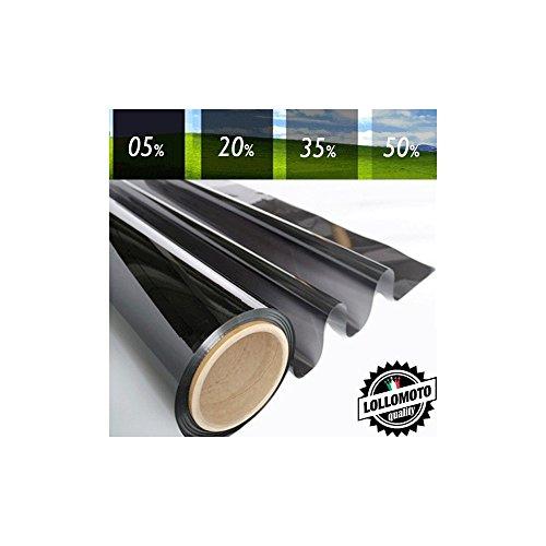 05% Pellicola Oscuramento Vetri Auto Professionale Rotolo Pellicola Vetri Tint - Altezza Rotolo 50cm