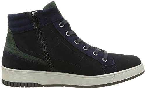 Stonefly Dover 2, Sneakers Hautes Homme Bleu (Blu Navy/Aster Blues 37)