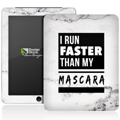 Apple iPad 1 Aufkleber Schutz Folie Design Sticker Skin Mascara Beauty Statement