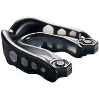 Shock Doctor Youth Gel - Protección de boca de fútbol infantil, tamaño Joven, color negro
