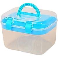 Demarkt Medizinbox Hilfe Koffer Hausapotheke Kasten für Medikamente 68 * 44 * 61cm Blau preisvergleich bei billige-tabletten.eu