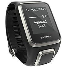 TomTom Spark Cardio Music Premium - Reloj deportivo, color negro, talla L