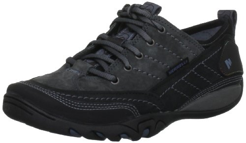 Merrell Mimosa Lace, Women's Lace-Up Trainer Shoes - Black (Black), 4 UK