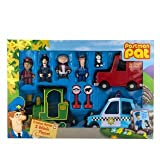 Postman Pat Deluxe Friction Action 3 Vehicle & Figures Playset