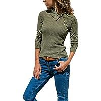 Damen Sweater,Geili Frauen Normallack Revers Kragen Lange Knopf Vordere Dünne Strickjacke Bluse Reizvolles Beiläufig... preisvergleich bei billige-tabletten.eu
