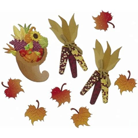 Jolee's Boutique Scrapbooking Embellishments, Mini Fall Harvest
