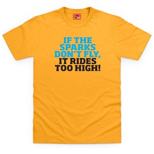 Classic Ford Sparks T-Shirt, Herren Gelb