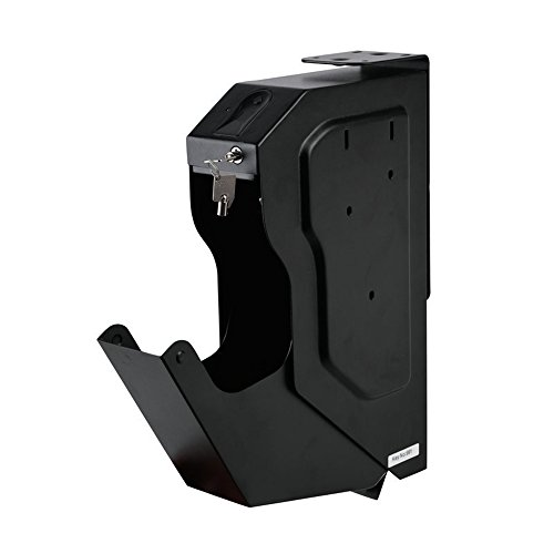 HAIT Portable Biometrische Fingerabdruck-Box Schmuck Pistole Sicher Im Schlafzimmer Auto Versteckt