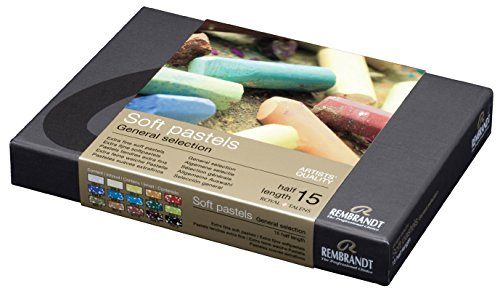 rembrandt-soft-pastel-half-stick-15-color-set-japan-import