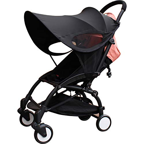Stroller Sunshade, Stroller Canopy Cover Compatible Accessory for Babyzen YoYo/Yoyo+, Protect from Wind,UV and Rain