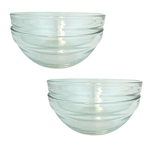 Bid Buy Direct® Stackable Glass Bowls Sets in Various Sizes
