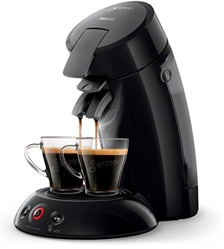 espresso padmaschine Philips Volks-Senseo HD6554/69 Kaffeepadmaschine (Crema Plus, Kaffeestärkewahl) schwarz