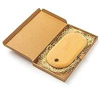 Tuuli Kitchen Wooden Chopping Cutting Board Wood Antibacterial 30 x 15 x 2 cm Gift Package Kitchen (Beech tree)