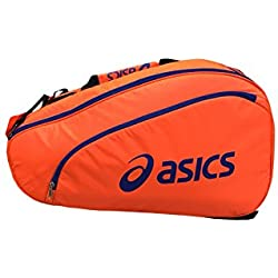 Asics 114574-0521 Bolsa de Pádel, Unisex Adulto, Naranja (Shocking Orange), Talla Única