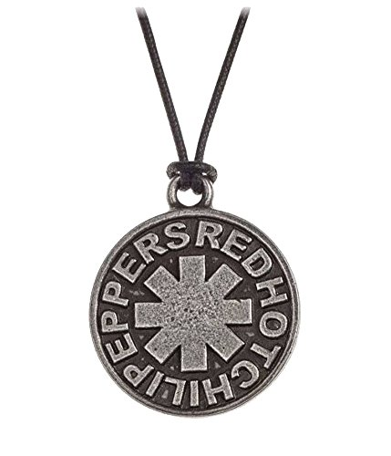 Red Hot Chili Peppers Necklace Pendant Asterisk logo offiziell Alchemy Silber