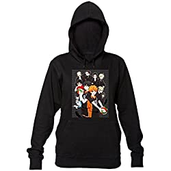 Finest Prints Haikyuu Characters Artwork Sudadera con Capucha para Mujer Medium