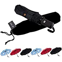 SY Compact Travel Umbrella Windproof Automatic Unbreakable -Factory Direct High Cost-Effective Umbrella