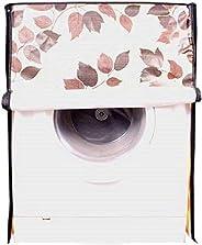 اغطية غسالة اوتوماتيكية ذات التعبئة الامامية بتصميم الزهور من كوبر اندستريز مناسبة للغسالات بحجم 6 كغم، 6.5 كغ