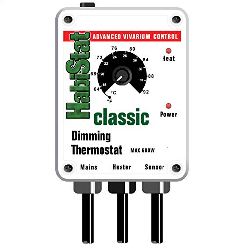 Habistat Dimming Thermostat 600W White for sale  Delivered anywhere in Ireland