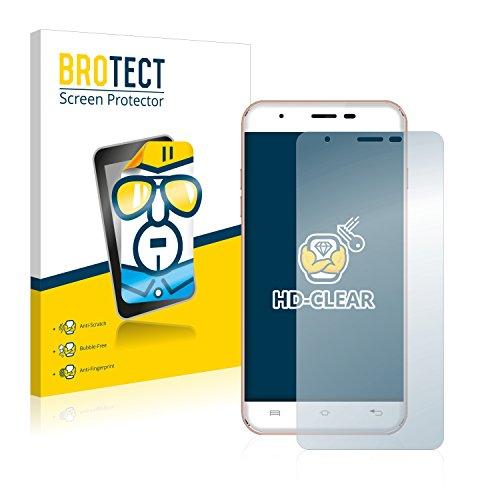 BROTECT Schutzfolie kompatibel mit Oukitel U7 Max [2er Pack] klare Bildschirmschutz-Folie