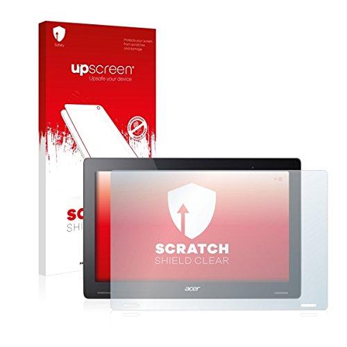 upscreen Scratch Shield Clear Bildschirmschutz Schutzfolie für Acer Aspire Switch 12 S (hochtransparent, hoher Kratzschutz)