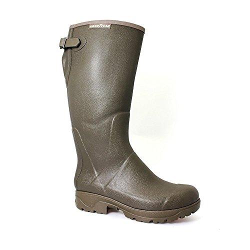 goodyear-unisex-neoprene-lined-stream-wellington-41-green