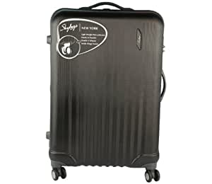 Skybags Polycarbonate 78 cms Black Softsided Suitcases (NWYORK78JBK)